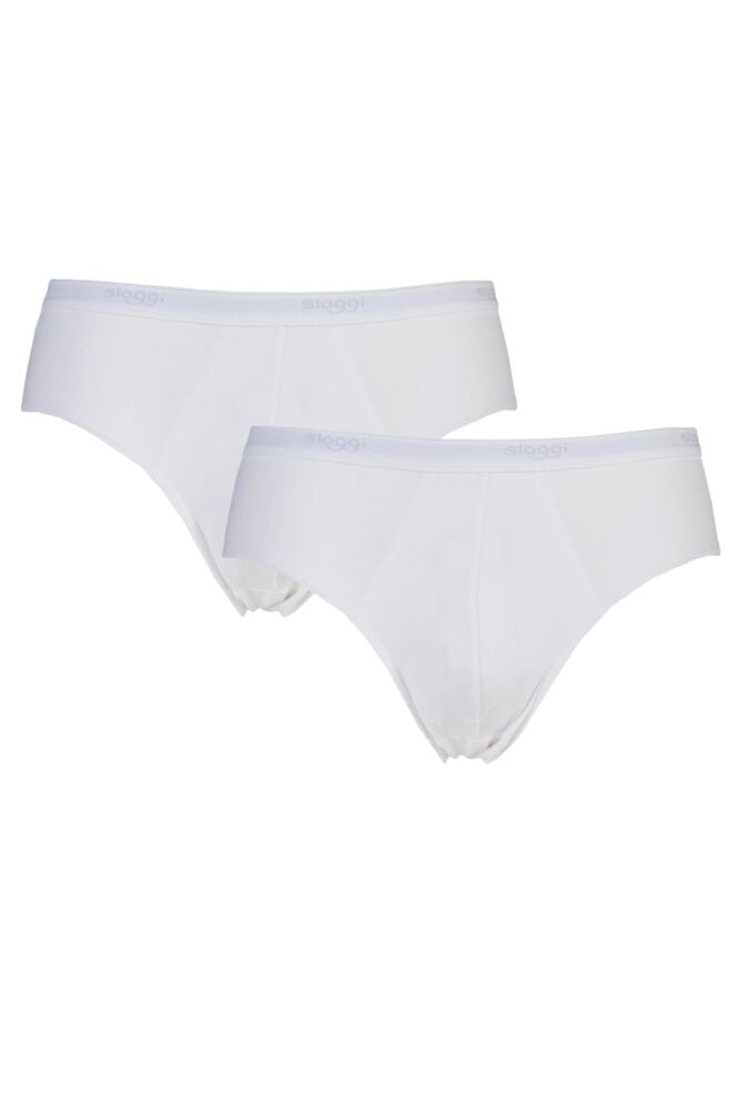 Mens 2 Pack Sloggi Basic Midi Brief