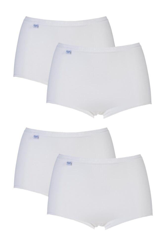 Ladies 4 Pair Sloggi Basic Maxi Briefs 25% OFF This Style