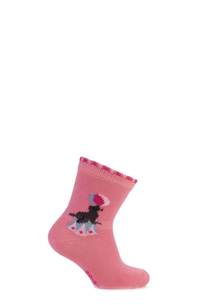 Babies 1 Pair Falke Circus Seal Cotton Socks 75% OFF