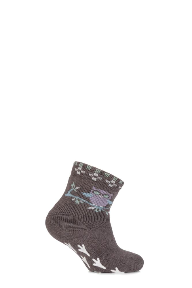 Babies 1 Pair Falke Owl Catspads with Talon Print Grip