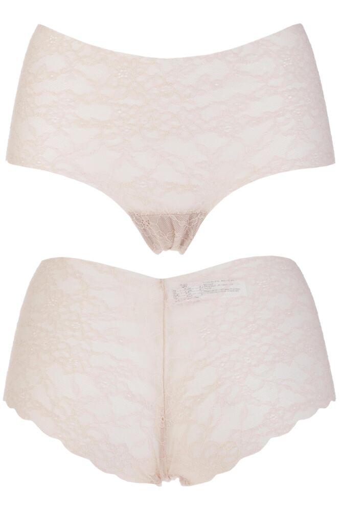 Ladies 1 Pair Sloggi Light Lace Shorts 50% OFF