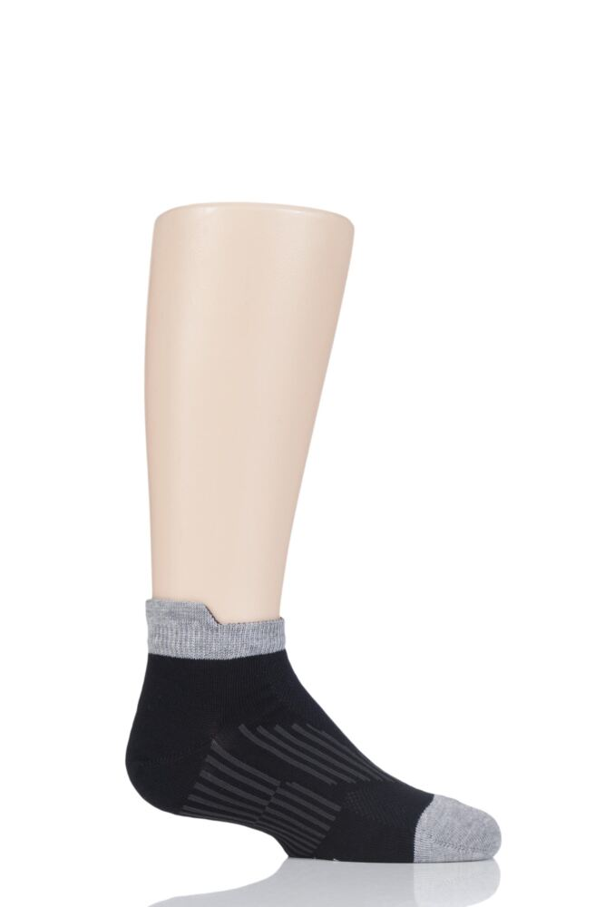 Boys and Girls 1 Pair Falke Run and Win Cotton Sneaker Socks