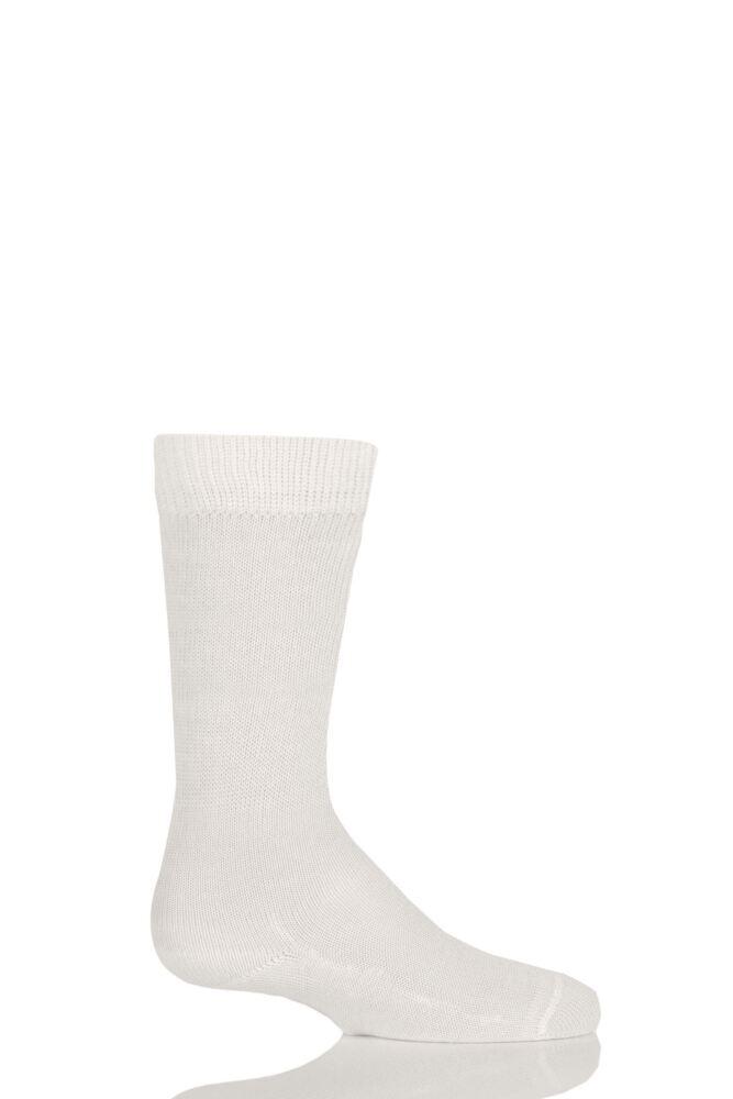 Boys And Girls 1 Pair Falke Family Casual Cotton Socks