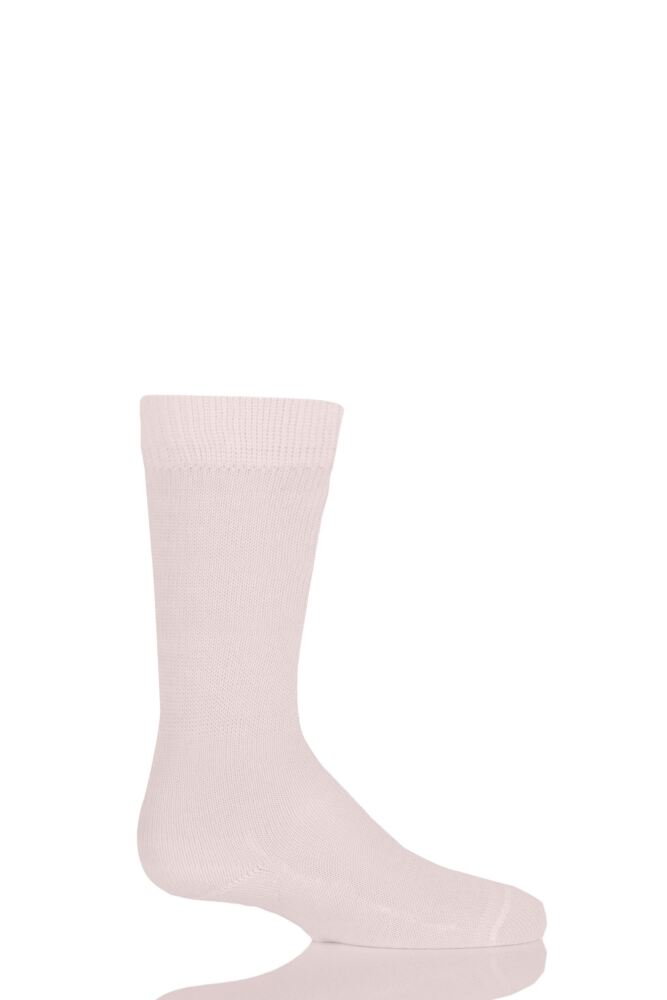 Boys And Girls 1 Pair Falke Family Casual Cotton Socks