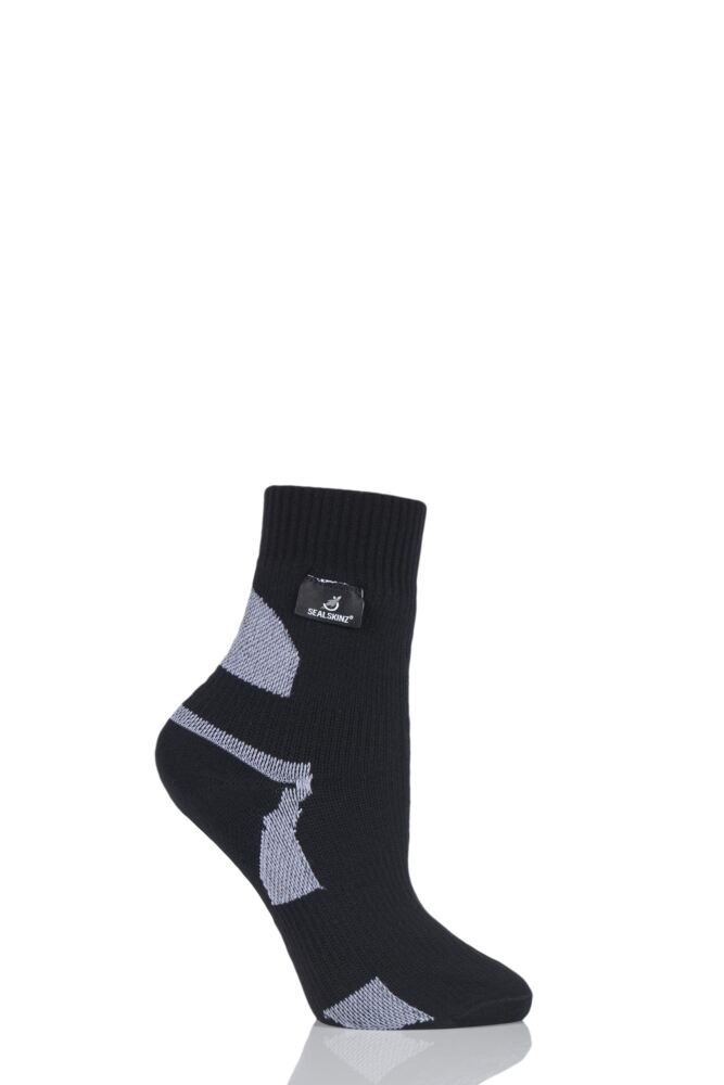 Mens and Ladies 1 Pair Sealskinz New Thin Ankle Length 100% Waterproof Socks