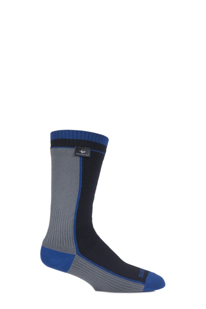 Mens and Ladies 1 Pair SealSkinz 100% Waterproof Thin Mid Length Socks