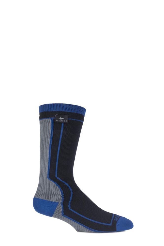 Mens and Ladies 1 Pair SealSkinz 100% Waterproof Thick Mid Length Socks