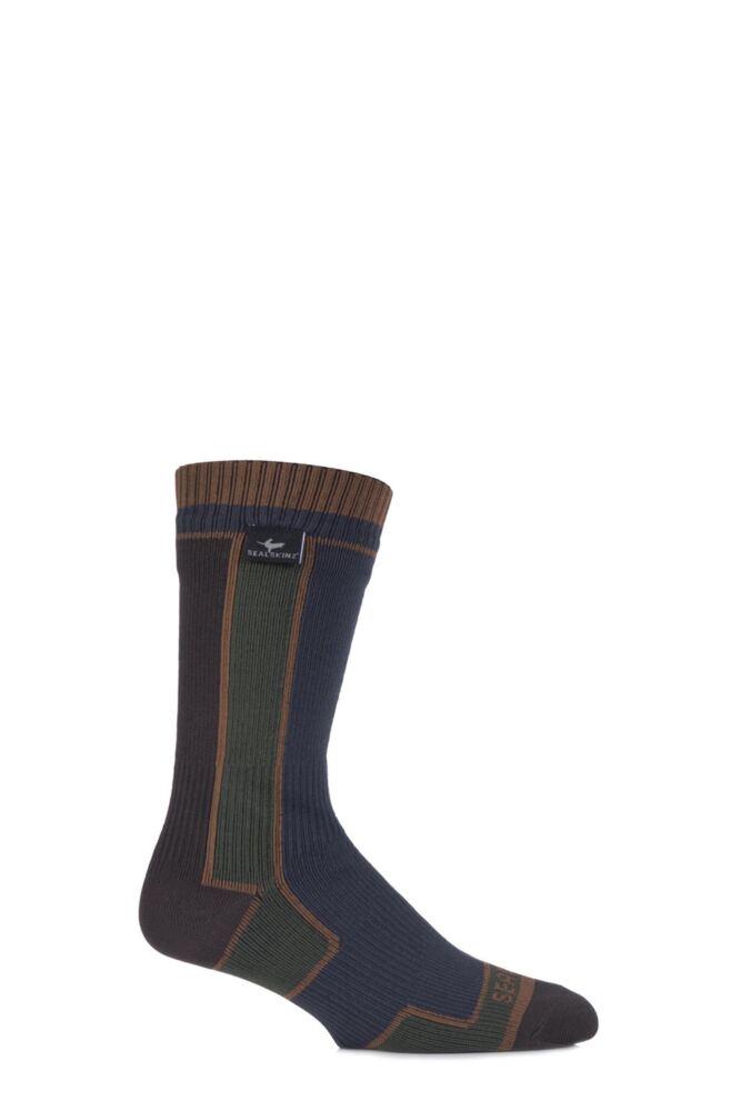 Mens and Ladies 1 Pair SealSkinz 100% Waterproof Thin Mid Length Walking Socks