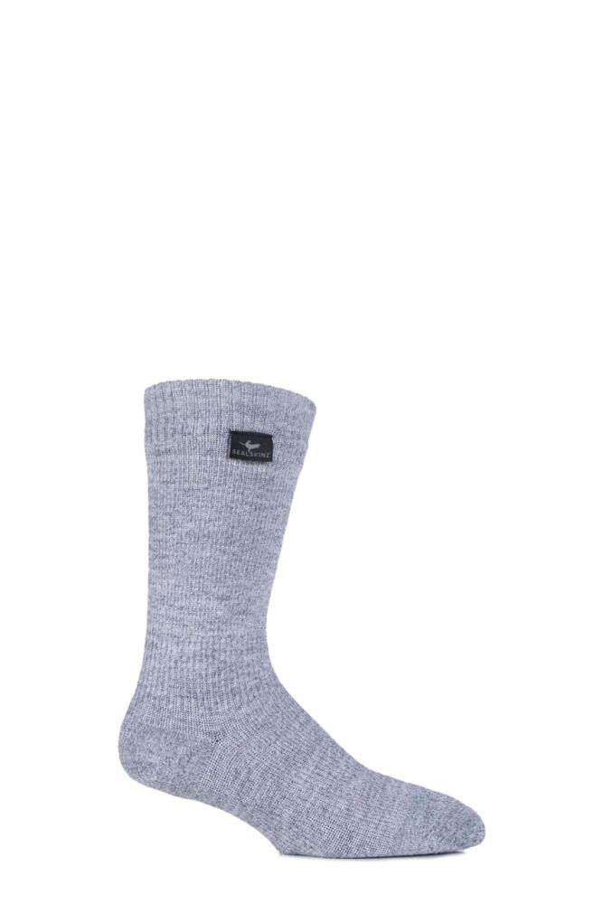 Mens and Ladies 1 Pair SealSkinz 100% Waterproof Mid Weight Hiking Socks