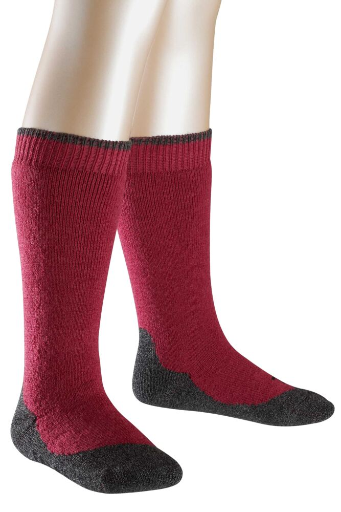 Boys And Girls 1 Pair Falke Active Warm Plus Knee High Socks