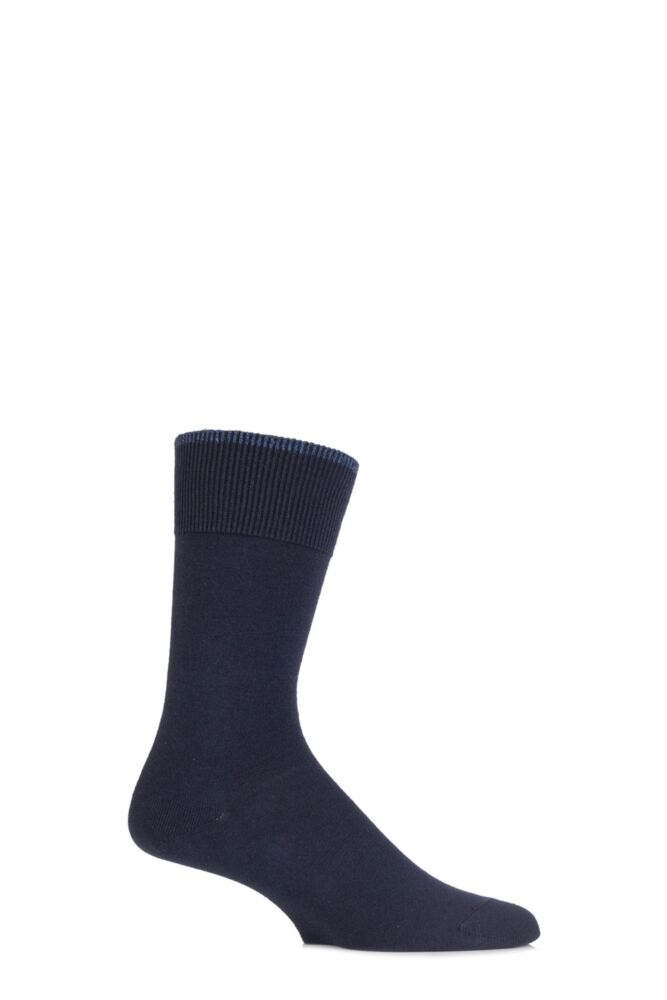 Mens 1 Pair Falke Graduate Cashmere Blend Socks
