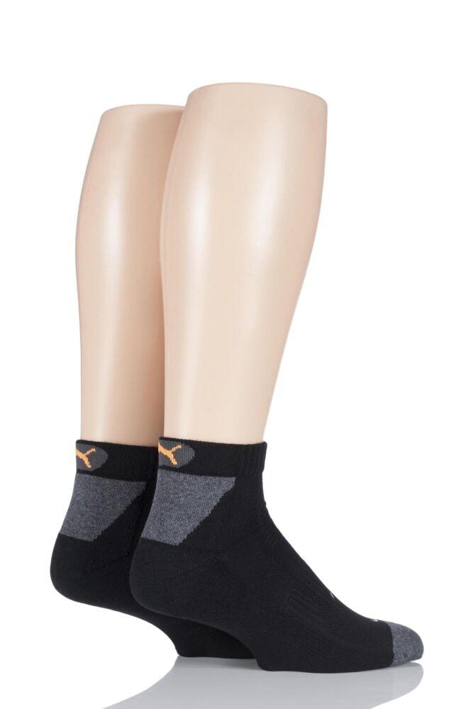 Mens and Ladies 2 Pair Puma CoolMax Performance Multi Sports Quarter Socks