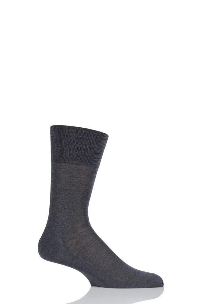 Mens 1 Pair Falke Tiago Classic Fil d'Ecosse 98% Mercerised Cotton Socks