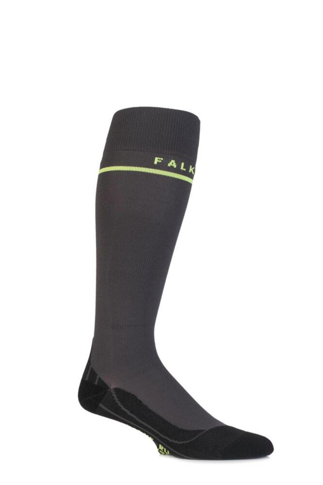Mens 1 Pair Falke Ergonomic Energizing Compression Running Socks 50% OFF