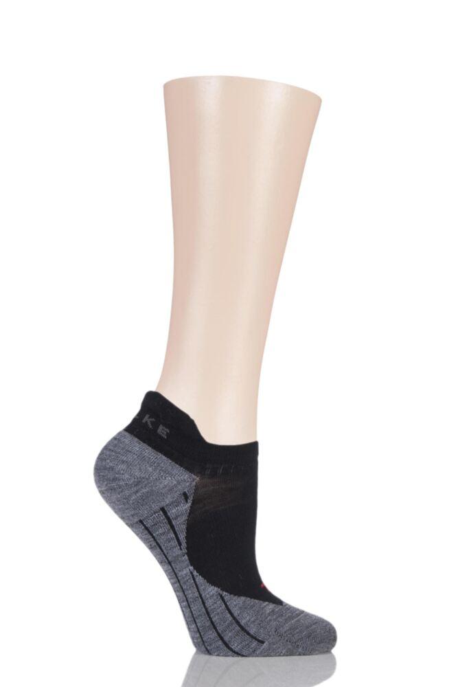 Ladies 1 Pair Falke TK5 Lightweight Cushioned Trekking Invisible Socks