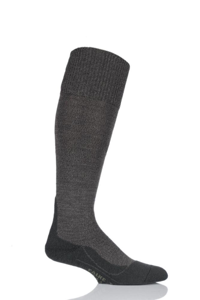 Mens 1 Pair Falke Trekking Wool Knee High Cushioned Boot Socks