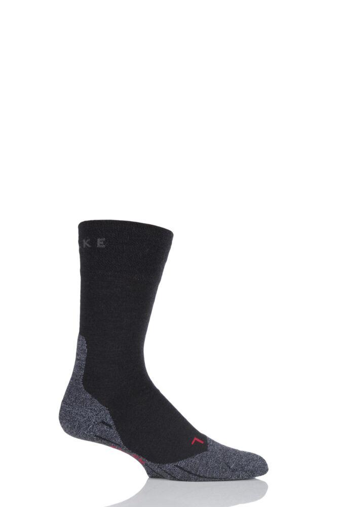 Mens 1 Pair Falke Trekking Sensitive Medium Cushioned Socks
