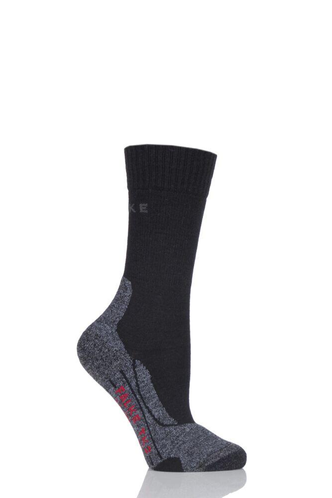 Ladies 1 Pair Falke Trekking Sensitive Medium Cushioned Socks