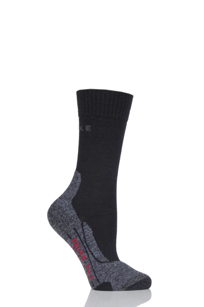 Ladies 1 Pair Falke Trekking Sensitive Medium Cushioned Socks