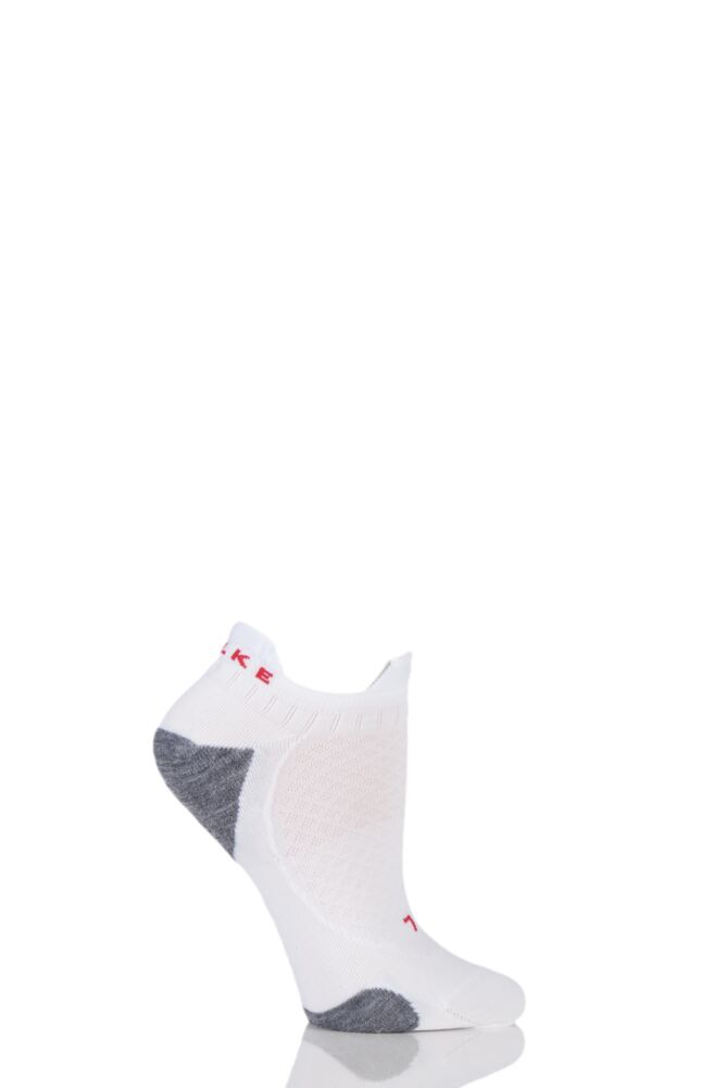 Ladies 1 Pair Falke RU5 Invisible Performance Running Socks
