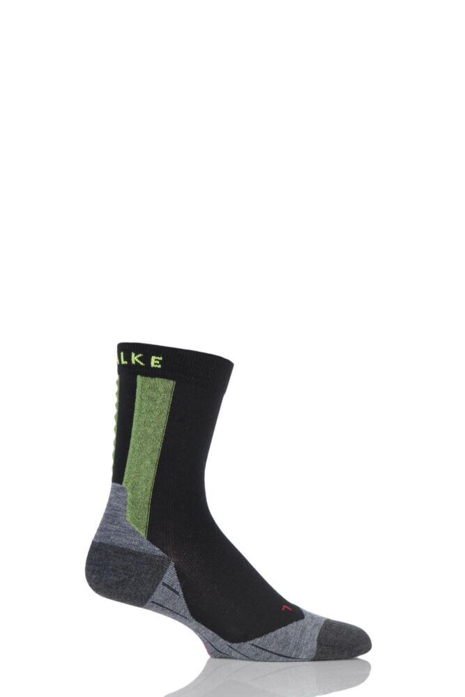 Mens 1 Pair Falke RU Achilles Socks with Achilles Massage Nodes