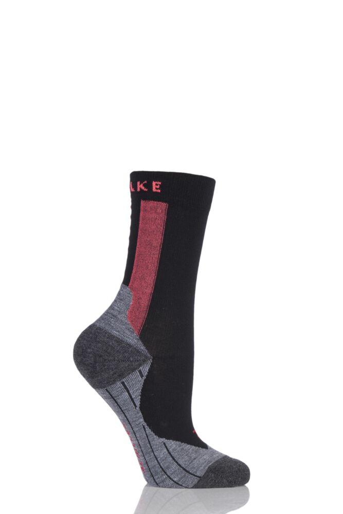 Ladies 1 Pair Falke RU Achilles Socks with Achilles Massage Nodes