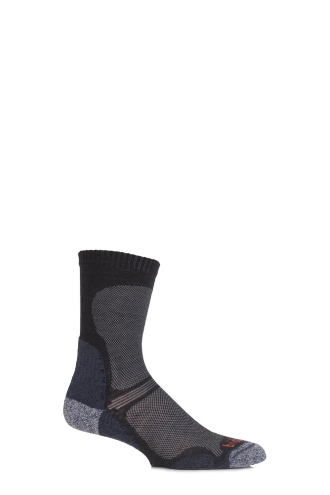 Mens 1 Pair Bridgedale Ultra Light Trail Enduro Wool Socks