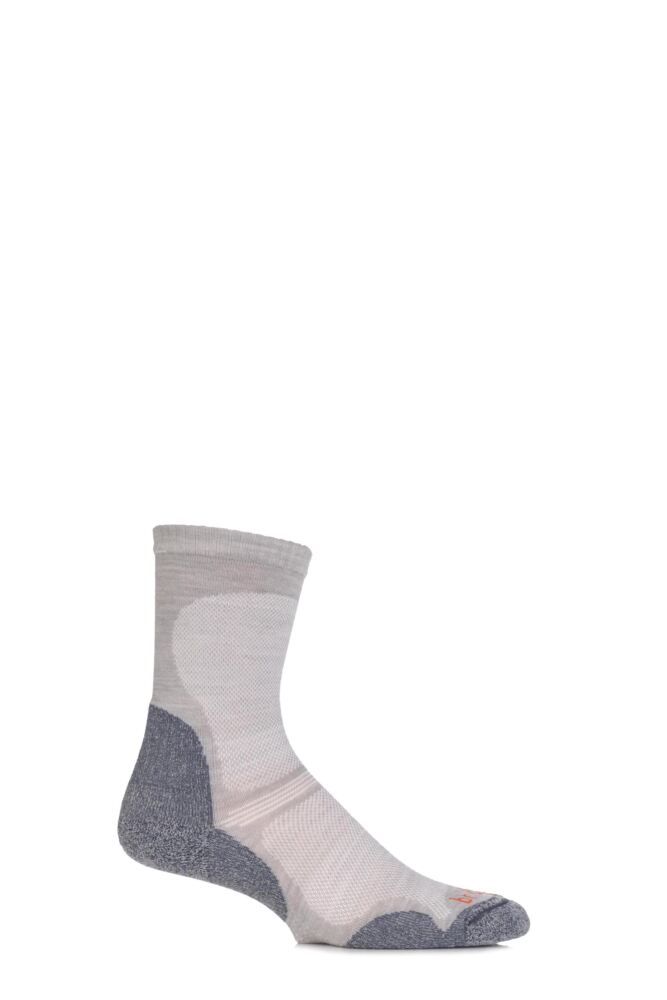 Mens 1 Pair Bridgedale Ultra Light Trail Enduro Wool Socks