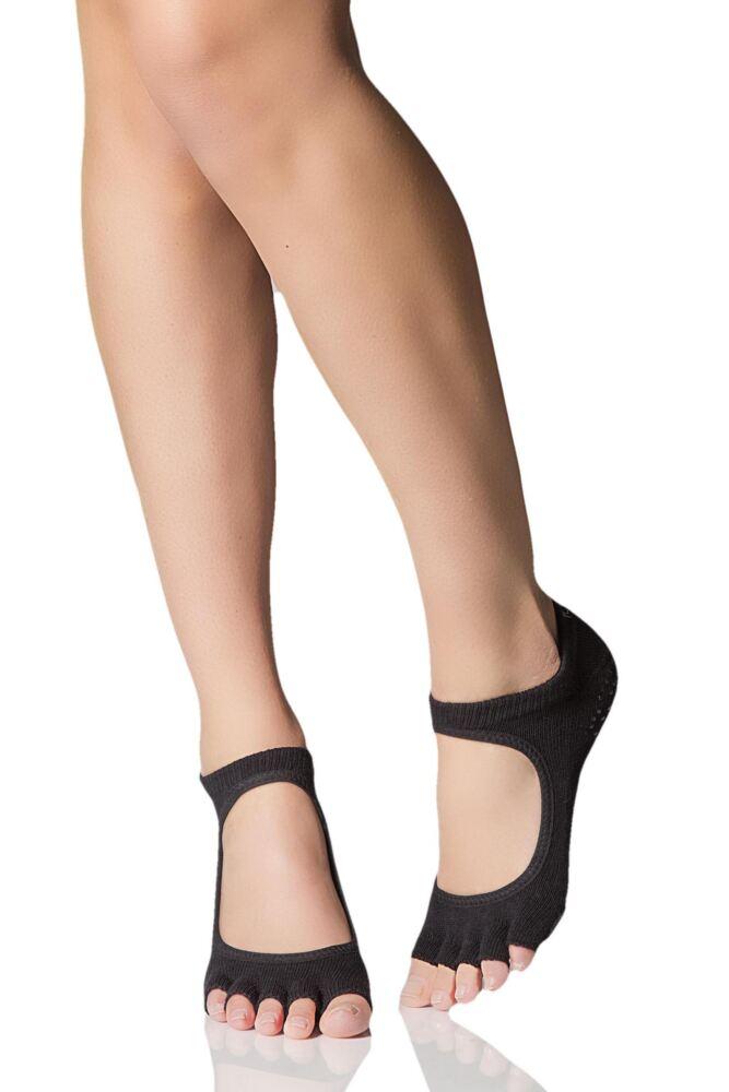 Ladies 1 Pair ToeSox Plie Half Toe Open Foot Dance Ballet Socks
