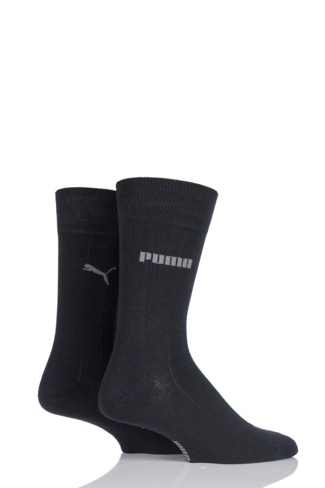 Mens 2 Pair Puma Dallas Suit Socks 25% OFF
