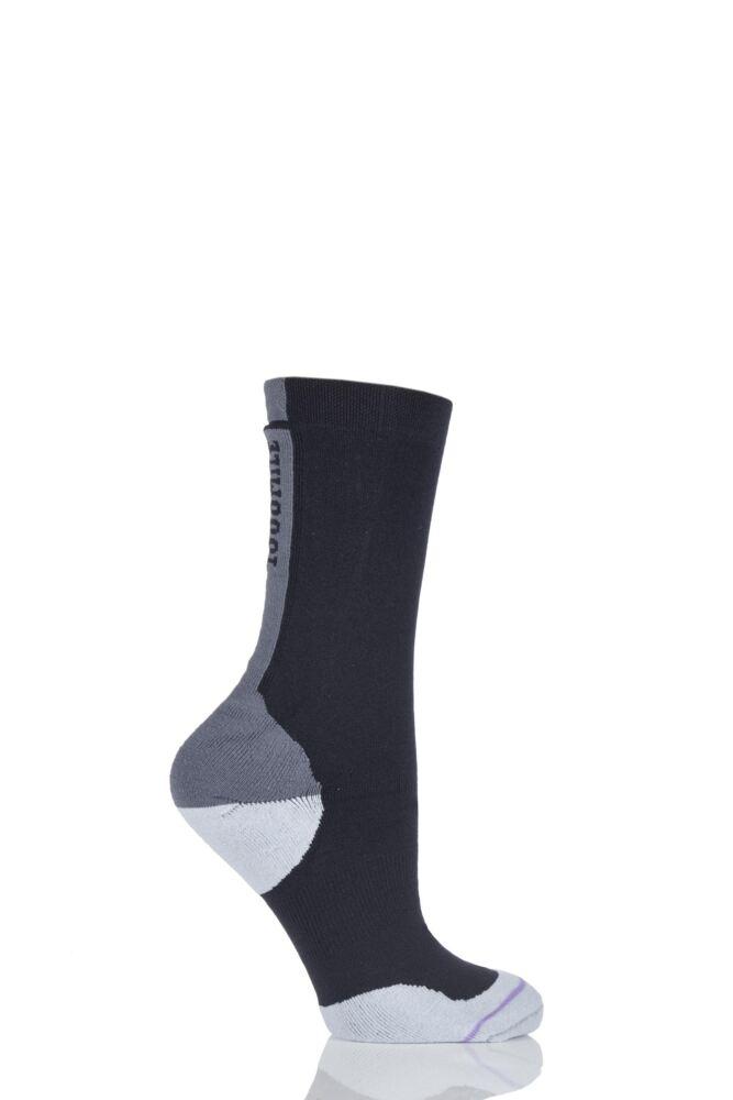 Ladies 1 Pair 1000 Mile Tactel Fusion Blister Free Socks