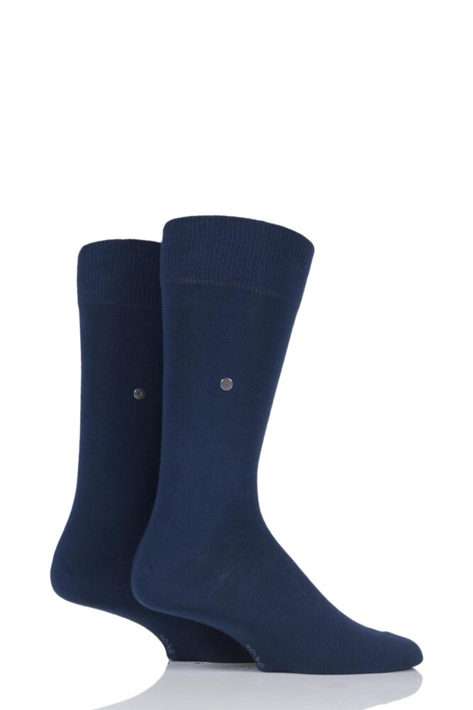Mens 2 Pair Burlington Everyday Cotton Socks