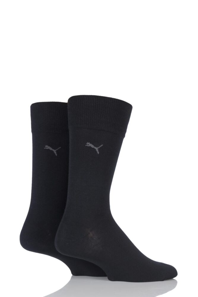Mens 2 Pair Puma Everyday Classic Cotton Socks