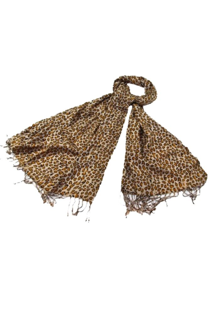 Ladies Bewitched Animal Print Scarf 33% OFF