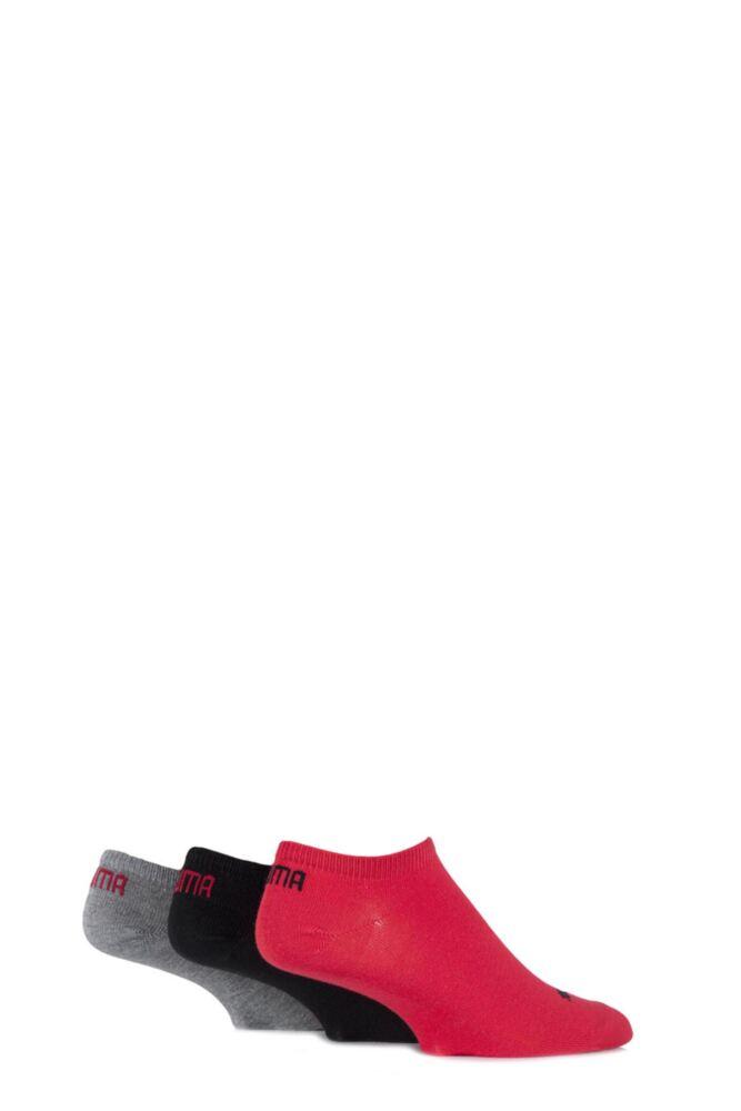 Mens and Ladies 3 Pair Puma Invisible Sneaker Socks