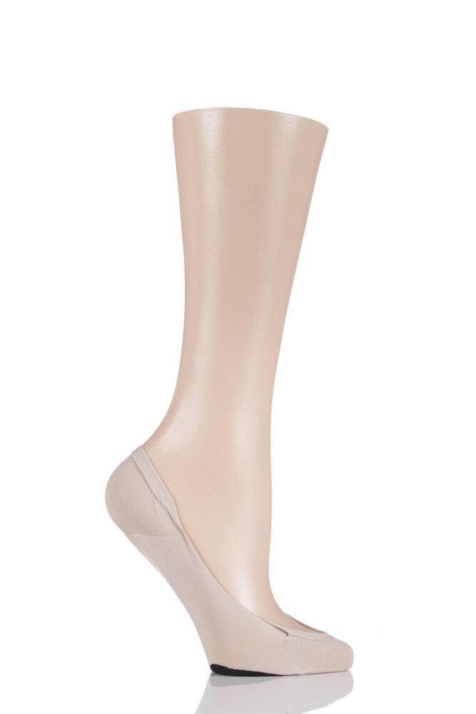 Ladies 1 Pair Pretty Polly Sweet Steps Footsies with Odour Control