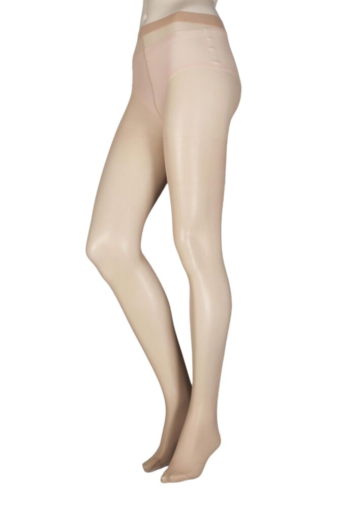 Ladies 1 Pair Elle Tights 30 Denier 100% Nylon