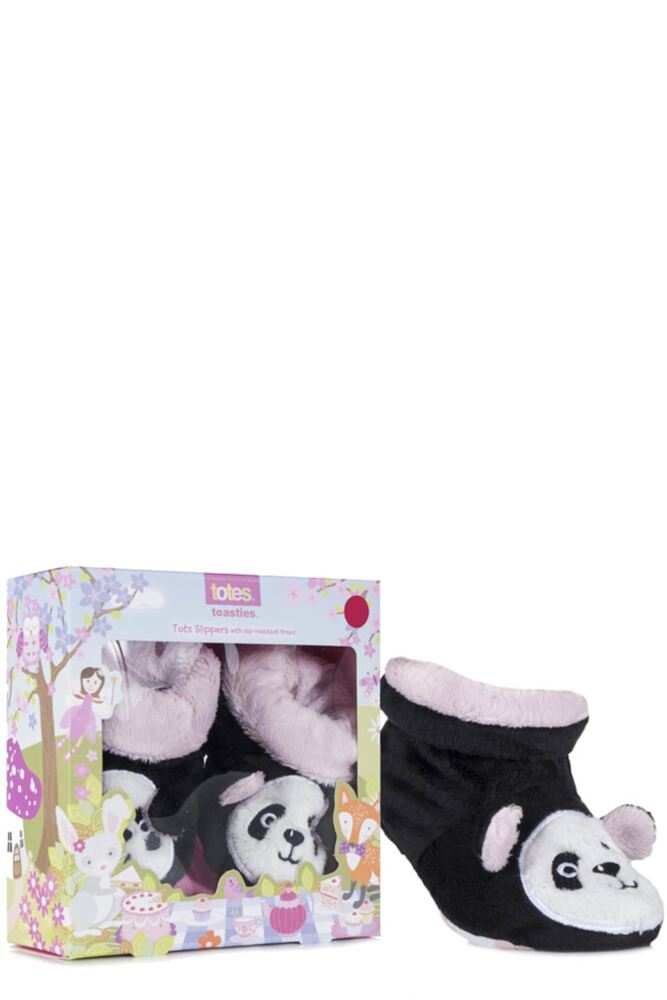 Baby Girls 1 Pair Totes Novelty Slippers with Grip