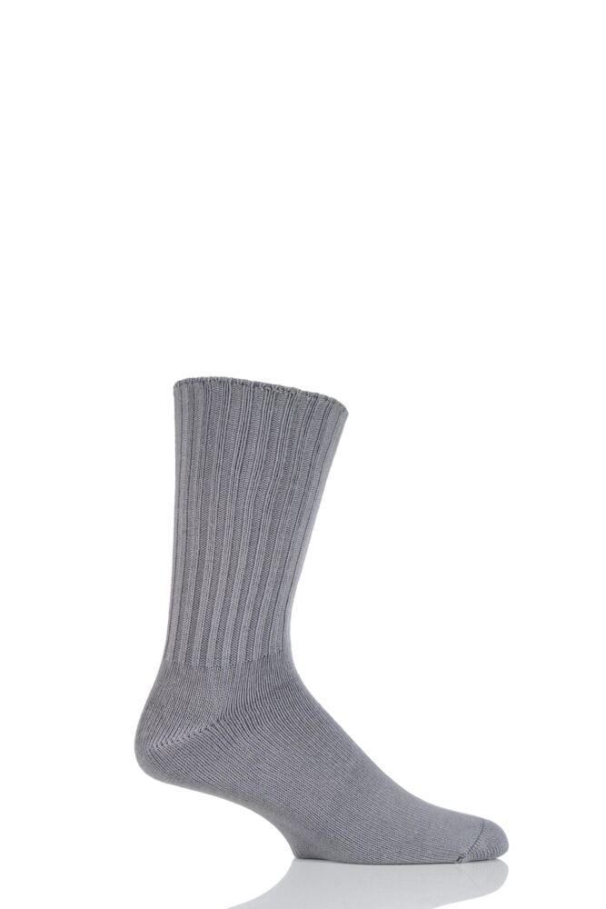 Mens 1 Pair J. Alex Swift Non Elastic Cuff Cotton Socks