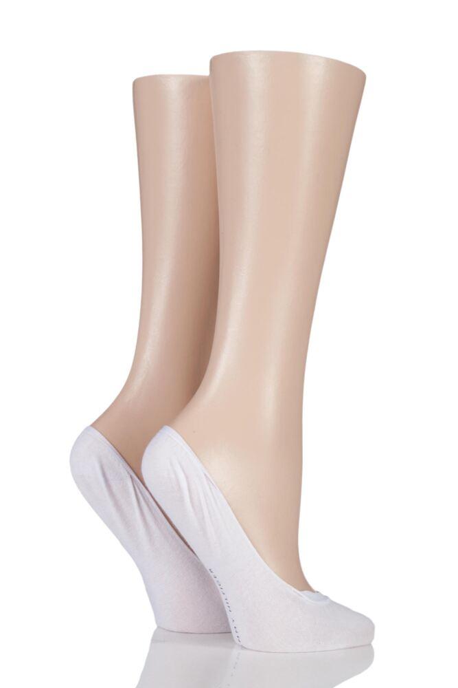 Ladies 2 Pair Tommy Hilfiger Ballerina Footies Socks