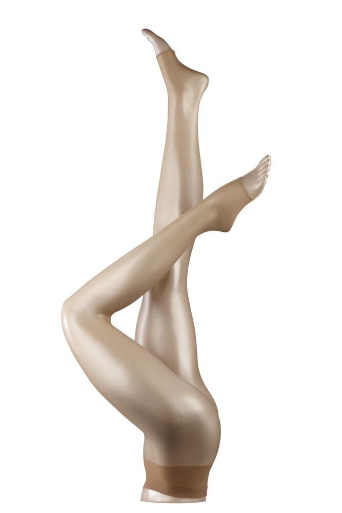 Ladies 1 Pair Falke Shelina 12 Denier Ultra Transparent Toeless Tights 25% OFF