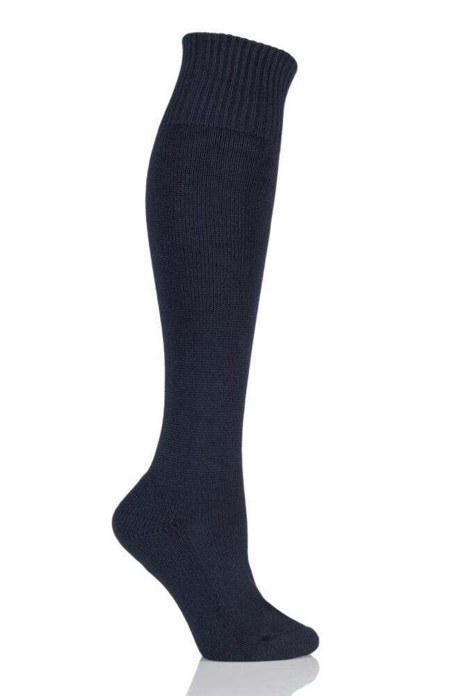 Ladies 1 Pair SockShop of London Cotton Riding Socks With Cushion Sole