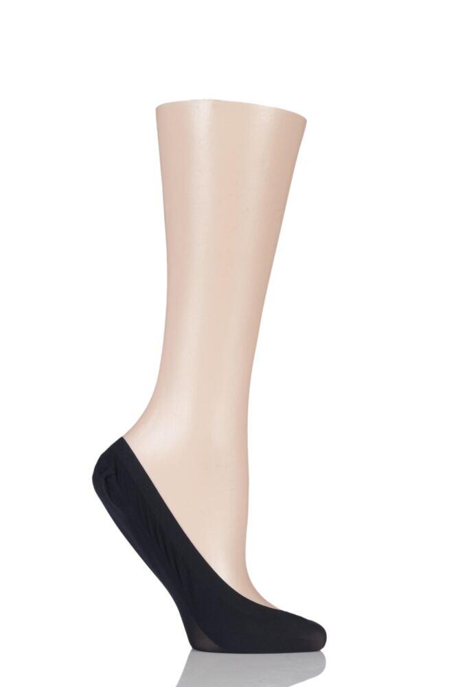 Ladies 1 Pair Falke Elegant Seamless Step Invisible Socks