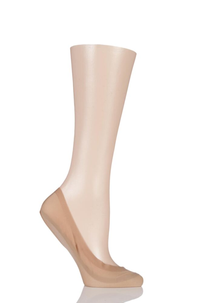 Ladies 1 Pair Falke Elegant Seamless Step Invisible Socks