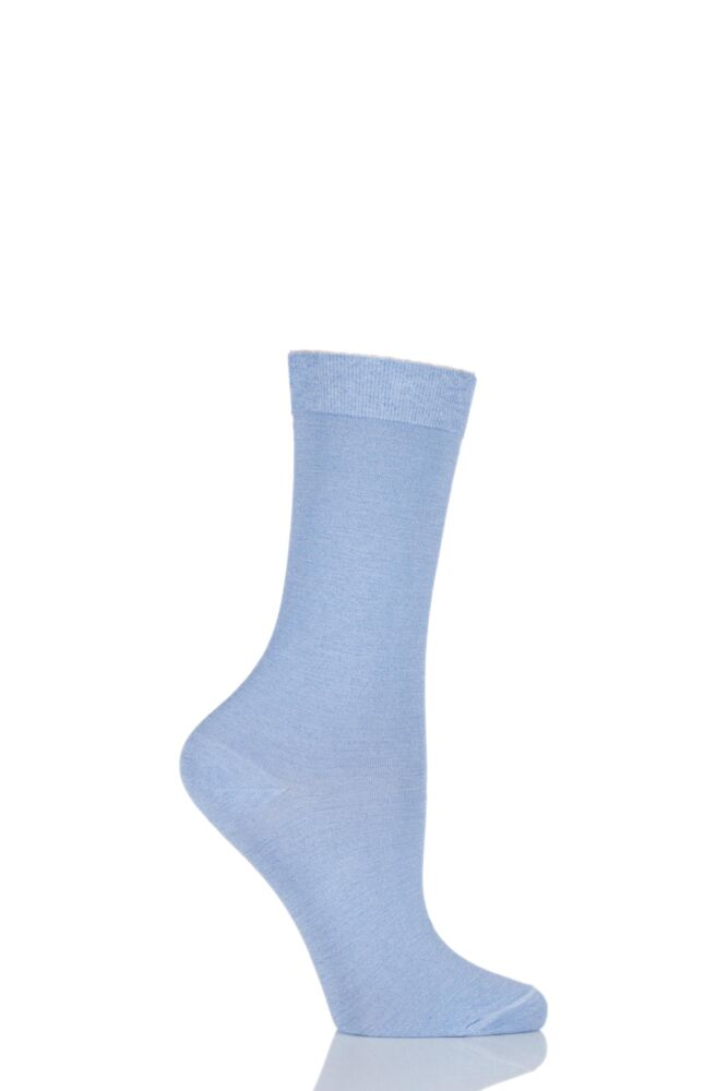Ladies 1 Pair Falke Velveteen Cotton Socks 25% OFF