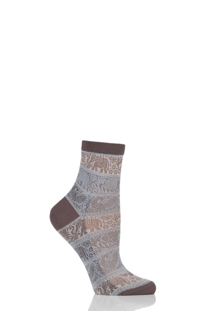 Ladies 1 Pair Falke Carnival Elephant Socks