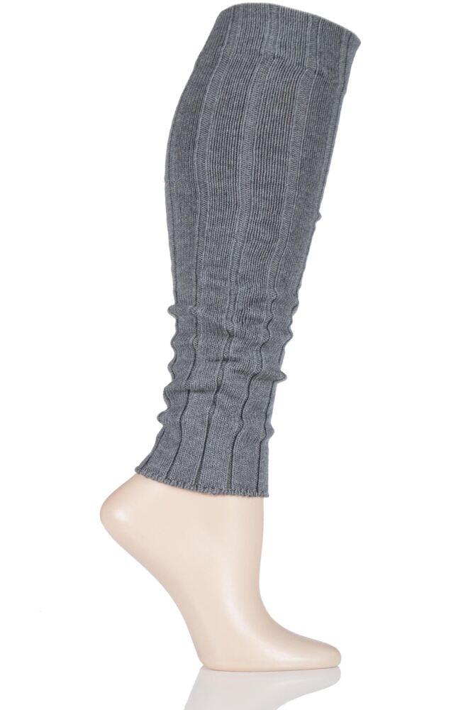 Ladies 1 Pair Falke Striggings Rib Leg Warmers