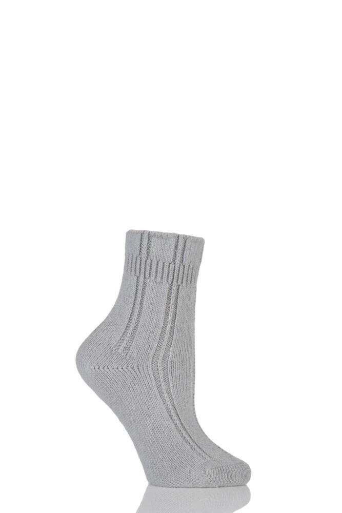 Ladies 1 Pair Falke Angora Bed Socks