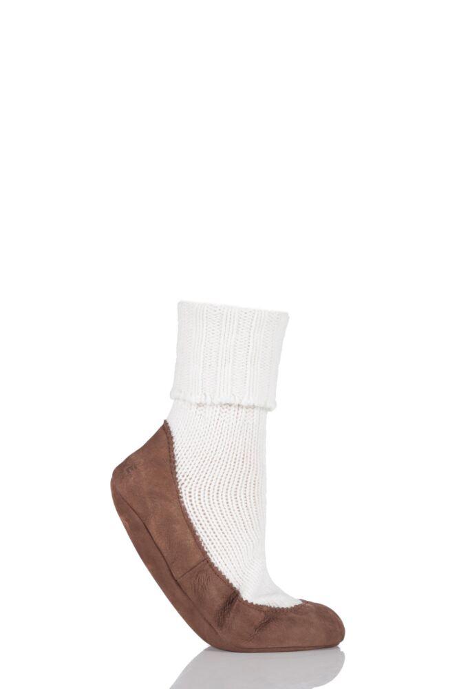 Ladies 1 Pair Falke Cashmere Blend Cottage Sock