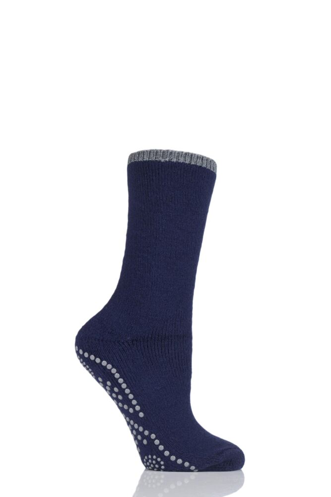 Ladies 1 Pair Falke Romance Pelerine Cotton Socks